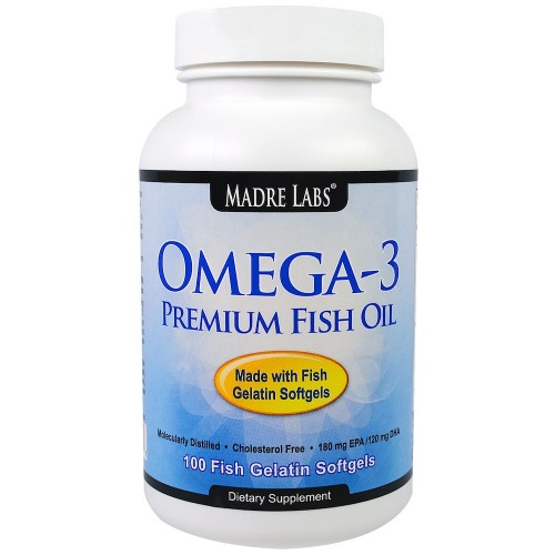 Omega-3 Fish Oil - 100 Softgels