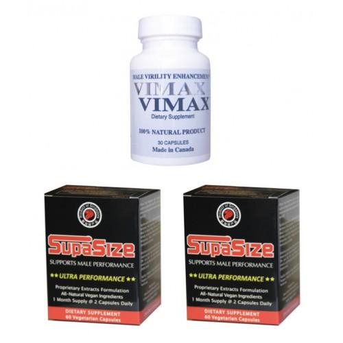 Vimax SupaSize Stack - 150 Capsules