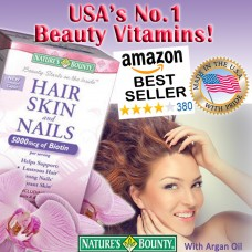 Nature's Bounty Hair, Skin, and Nails