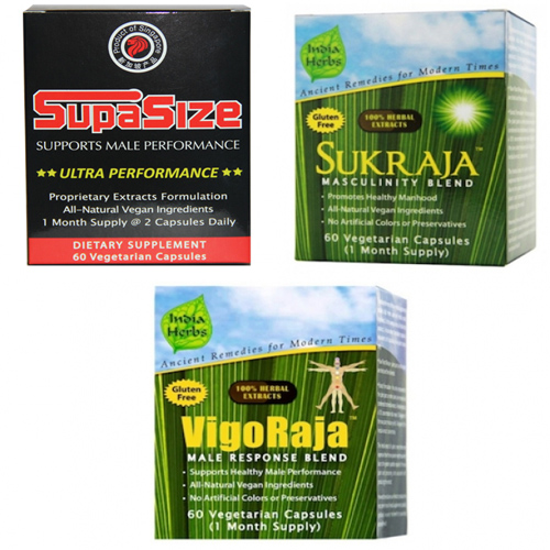 SupaMan Program for Enlargement - 180 Capsules