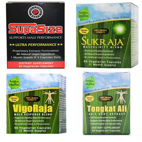 SupaStar Program for Enlargement - 240 Capsules