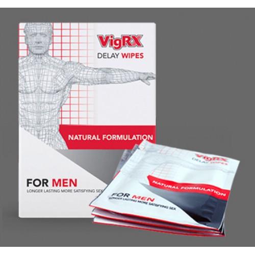 Vigrx Delay Wipes Trial - 2 Wipes